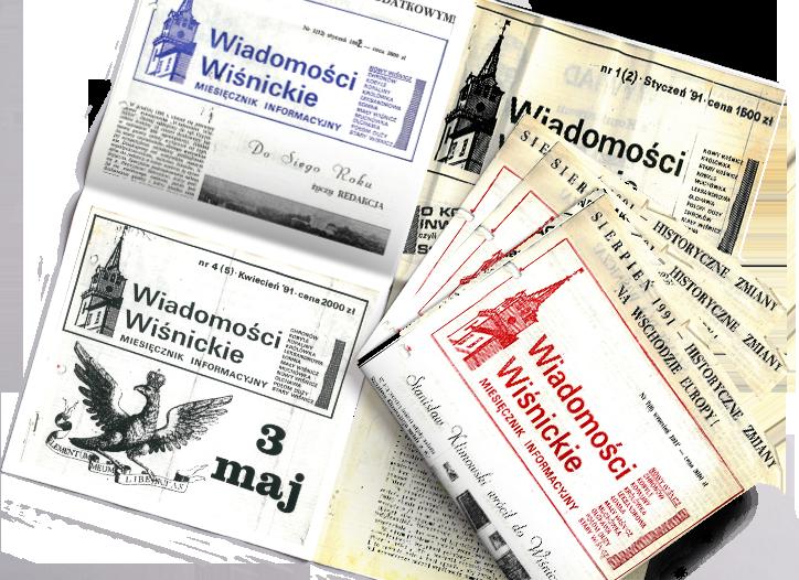 Stare wydania Wiadomości Wiśnickich